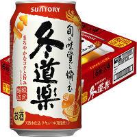 【冬季限定】サントリー 新ジャンル 冬道楽 (2018年冬限定) 350ml ×24缶