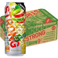 キリンビール キリン 氷結ストロング ダブルりんご 500ml×24缶