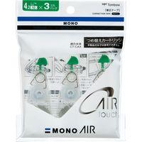 トンボ鉛筆 修正テープモノエアーCAR4 3Pパック KCA-311 1セット(6個: 3個入X2)(直送品)