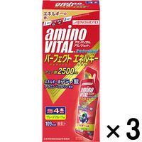 アミノバイタルアミノショット パーフェクトエネルギー 1セット(4本入×3箱) 味の素 アミノ酸 サプリメント
