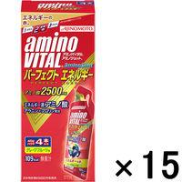 アミノバイタルアミノショット パーフェクトエネルギー 1セット(4本入×15箱) 味の素 アミノ酸 サプリメント