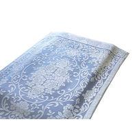 <LOHACO> ファミリー・ライフ 今治産大判ボリュームタオルケット ブルー シングル 幅1500×高さ2100mm (直送品)画像
