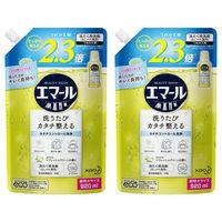エマール リフレッシュグリーンの香り 詰め替え 920ml 1セット(2個入) 衣料用洗剤 花王
