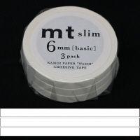 マットホワイト 幅6mm