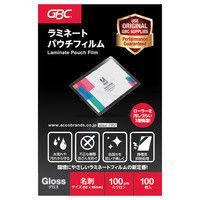 パウチフィルム 名刺サイズ YP60095Z 1箱(100枚入) アコ・ブランズ・ジャパン