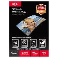 パウチフィルム 写真Lサイズ YP95135Z 1箱(100枚入) アコ・ブランズ・ジャパン