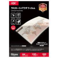 パウチフィルム A4サイズ YP100A4Z 1箱(100枚入) アコ・ブランズ・ジャパン
