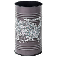東谷 ダストボックス ゴミ箱 スチール缶 LFS-431B (直送品)