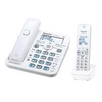 パナソニック Panasonic コードレス電話機(子機1台付き) VE-GD56DL-W
