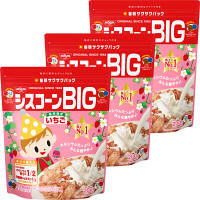 日清シスコ シスコーン BIG いちご 1セット(3個)