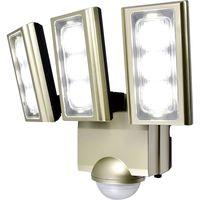 エルパ LEDセンサーライト コンセント式 3灯 ESL-ST1203AC