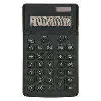 ナカバヤシ スタンダード電卓M ブラック ECD-3102TBK