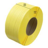 司化成工業 「現場のチカラ」 PPバンド 梱包機用 幅15.5mm×2500m巻 黄色 TLBY 1巻