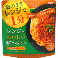 SSKセールス レンジでおいしい!薫るパスタソース ポルチーニ茸のボロネーゼ 130g 1袋
