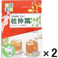 健康茶館 杜仲茶 1セット(2個:5g×36袋) 健康茶