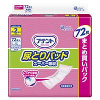 アテント 尿とりパッド スーパー吸収 女性用 1パック(80枚入) 大王製紙株式会社 エリエール
