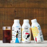 ダラゴア農園ブレンド ブラックコーヒーボトル缶 375g 1箱(24缶)