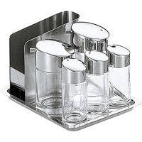 #900 テーブルセット ガラス製 5606400 大塚硝子店(取寄品)