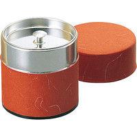 ヤマコー ブリキ 茶筒(ぽっかん)L 200g入 レッド(81329) 8077300 (取寄品)