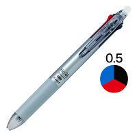 フリクションボール3スリム 0.5mm ダークシルバー軸 銀 消せる3色ボールペン LKFBS-60EF-DS パイロット