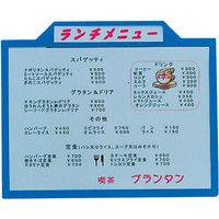 プラビック タイトルパネル(B5サイズ)青 6788100(取寄品)
