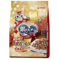 【数量限定】銀のスプーン 猫用 18冬限定 北海道産ホタテ貝柱パウダー仕立て1.5kg 1袋 ユニ・チャーム
