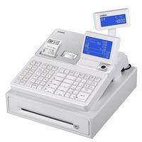 【軽減税率対応】カシオ計算機 電子レジスター ホワイト 1台 SR-S4000-20SWE
