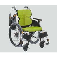 松永製作所 車椅子(ネクストコア・アジャスト) ライトグリーン NEXT-51BA F3 1個 8-9256-02(直送品)