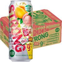 キリンビール 氷結ストロング 白桃&黄桃 500ml × 24缶