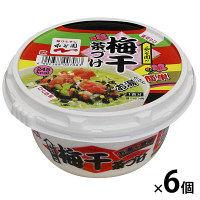 永谷園 カップ 梅干茶づけ 1ケース(6食入)