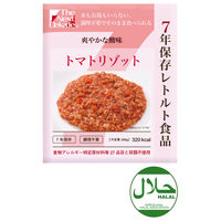 7年保存レトルト食品 トマトリゾット TK00000008 1箱(50個入) グリーンケミー