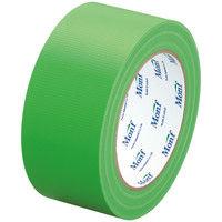 古藤工業 カラー布テープ スパッと切れる布テープ N0.8001 0.22mm厚 ライムグリーン(緑) 幅50mm×長さ25m巻 1箱(30巻)