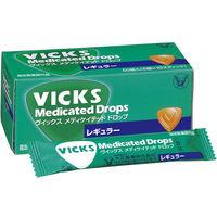 ヴイックス メディケイテッドドロップ レギュラー 1箱(50個入) 大正製薬 のど飴 【指定医薬部外品】
