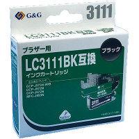 ブラザー用 G&G 互換インク HBB-3111BK ブラック(LC3111BK互換)