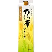 本格焼酎 博多の華すっきりむぎ 25度 1.8L 6本