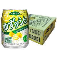 チョーヤ ゆずッシュ 250ml×24缶