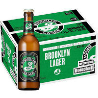 ブルックリン ラガー 330mlびん 24本【ビール】