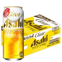 アサヒ クリアアサヒ 500ml 1箱(24缶入)