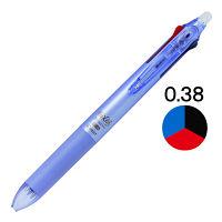 フリクションボール3スリム 0.38mm パールバイオレット軸 紫 消せる3色ボールペン 5本 LKFBS-60UF-PV パイロット