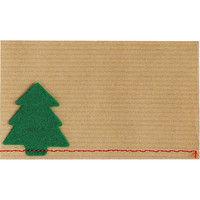 ヘッズ ハンドメイドクリスマスカード-2/ツリー HMX-C2 1セット(580枚:20枚×29パック) (直送品)