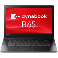 東芝 dynabook 15.6型ノートPC Core i5/Office無 PB65JEB1127AD21