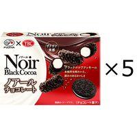 不二家 ノアールチョコレート 1セット(5箱)