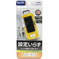 タニタ 3Dセンサー搭載歩数計 ダイダイ FB-731-OR(1台)