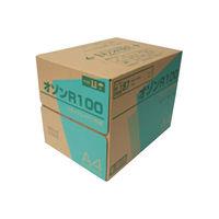 王子製紙 再生コピー用紙 オゾンR100 A4 1461411 1ケース (直送品)