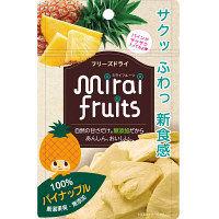 【9ヵ月頃から】ミライフルーツ パイナップル 1袋 テクセルジャパン