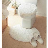 トイレマット温水洗浄型フタカバーセット
