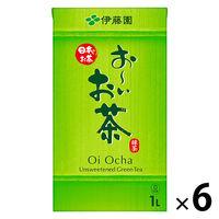 伊藤園 おーいお茶 緑茶 紙パック 1L 1箱(6本)