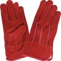 現場系女子外縫い内綿レッド S AG2555 エースグローブ 1双(直送品)