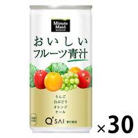 ミニッツメイド おいしいフルーツ青汁 コカ・コーラ 190g 1箱(30本)