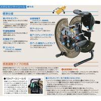 畑屋製作所 ハタヤ メタルセンサーリール (VCT・50M) MSB-501K 1台(直送品)
